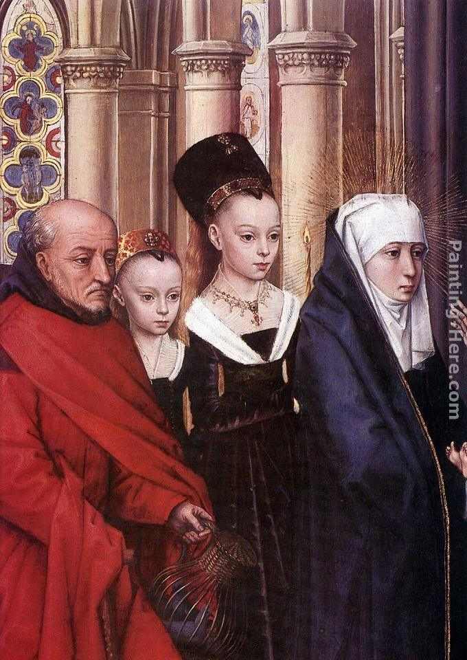 Hans Memling The Presentation in the Temple [detail 1]